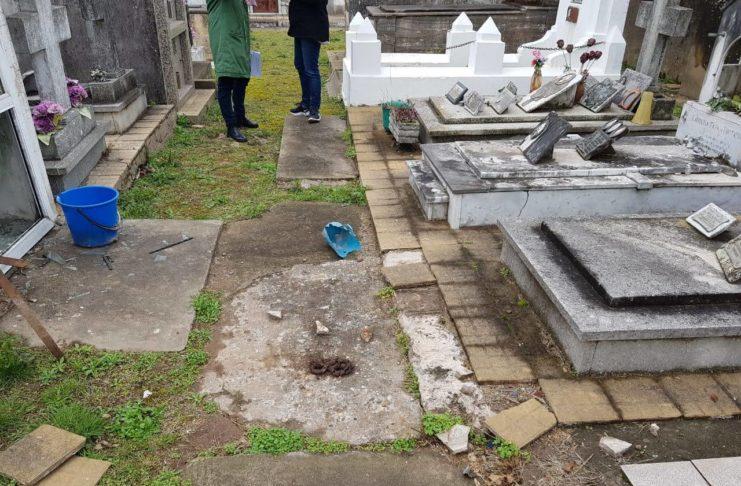 El cementerio tendrá seguridad privada.