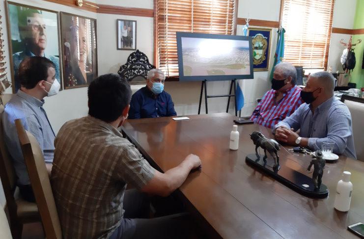 El intendente recibió a cuatro representantes de los cultos evangélicos.