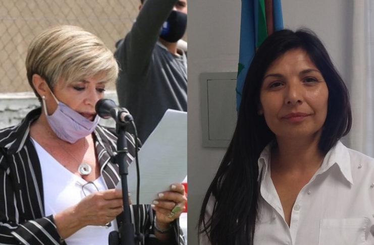 Fabiana Nodar y Mónica Ortega.