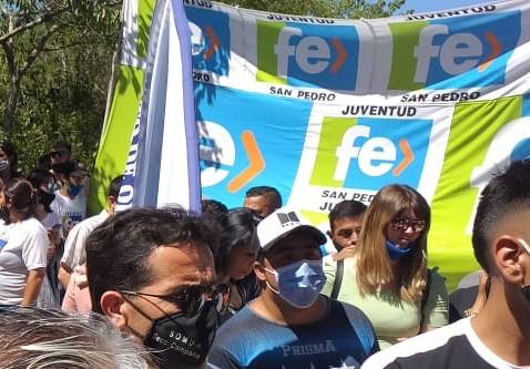 La Juventud Fe, presente en Vuelta de Obligado.
