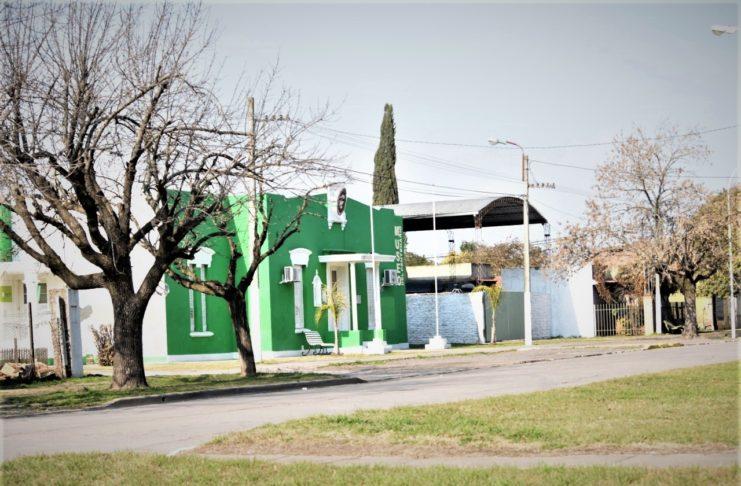 La sede de la Delegación municipal de Santa Lucía.
