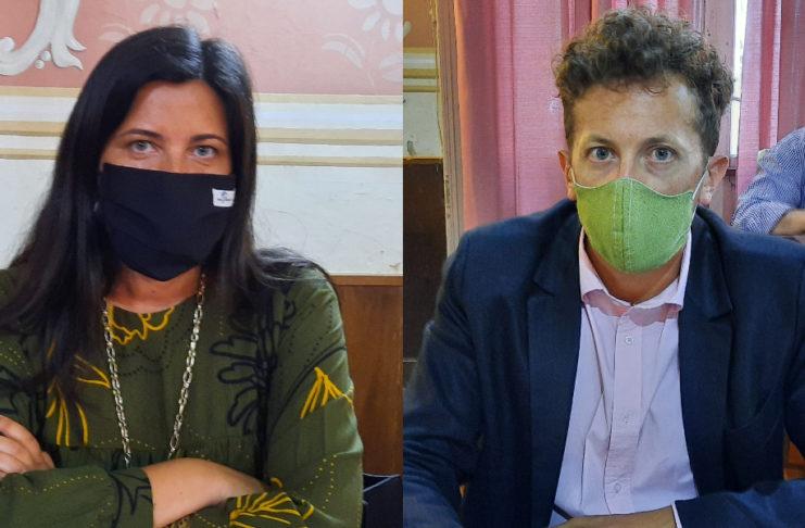Sánchez y Paz, los voceros en contra y a favor de la prórroga.