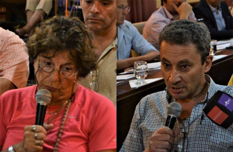 Liliana Montero y Carlos Collaretti.