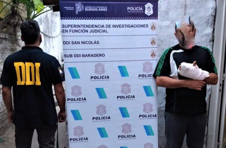 El prófugo fue detenido en Don Torcuato.