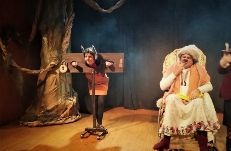 Jumanji, una celebrada obra infantil del grupo Cuarta Pared.