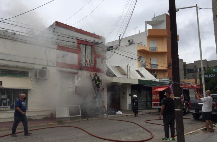 Muñoz murió por asfixia tras inhalar el humo en su vivienda.