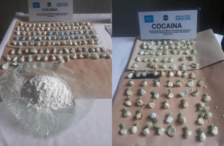 La cocaína secuestrada está valuada en 850 mil pesos.