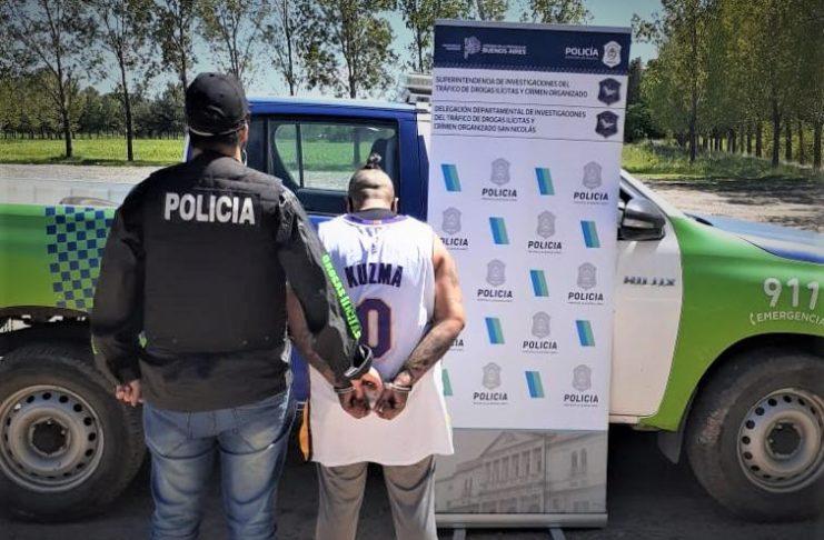 Romina Balenzuela fue detenida en Río Tala.