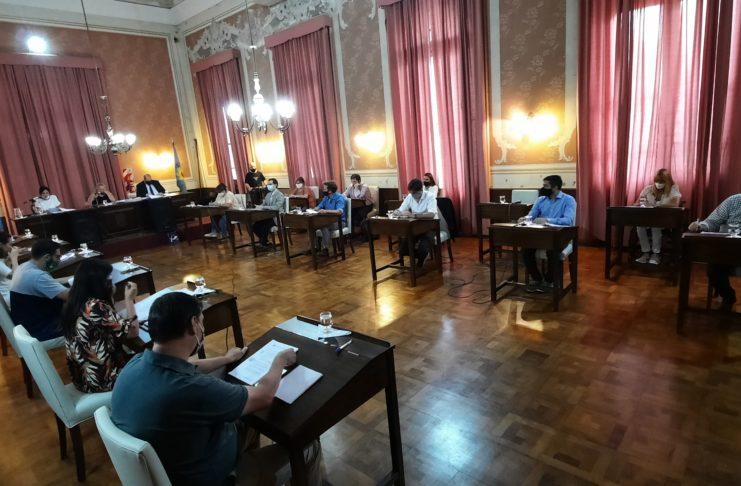 Los concejales distribuyeron las presidencias de las comisiones el año pasado.