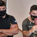 Maximiliano Bueno y Jonathan De la Fuente, los representantes locales de Intense Live.