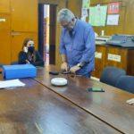 Concejales de la comisión de Servicios Públicos dialogaron con Germán Vercelli.