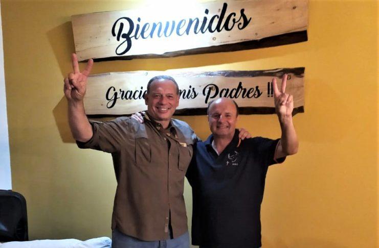 Berni vino a San Pedro a celebrar el cumpleaños de Guacone.