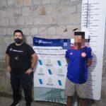 Albacete fue detenido para ser trasladado a la cárcel.