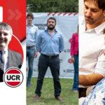 Paganuchi, Gravino y Chediak, los candidatos locales de la interna radical.