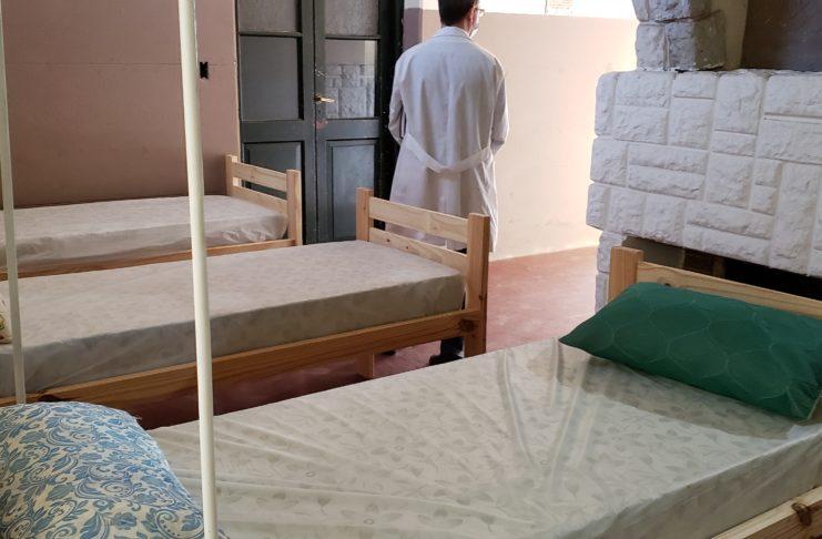 En ANDAR hay 25 camas pero el personal para atenderlas es el mismo para el resto de los efectores.