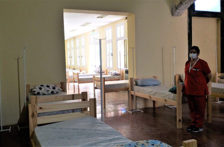 Todavía no se utilizaron las camas del centro de aislamiento en ANDAR.