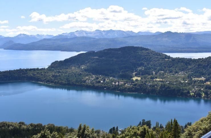 Bariloche visto desde el cerro Otto. Foto: Archivo La Opinión.