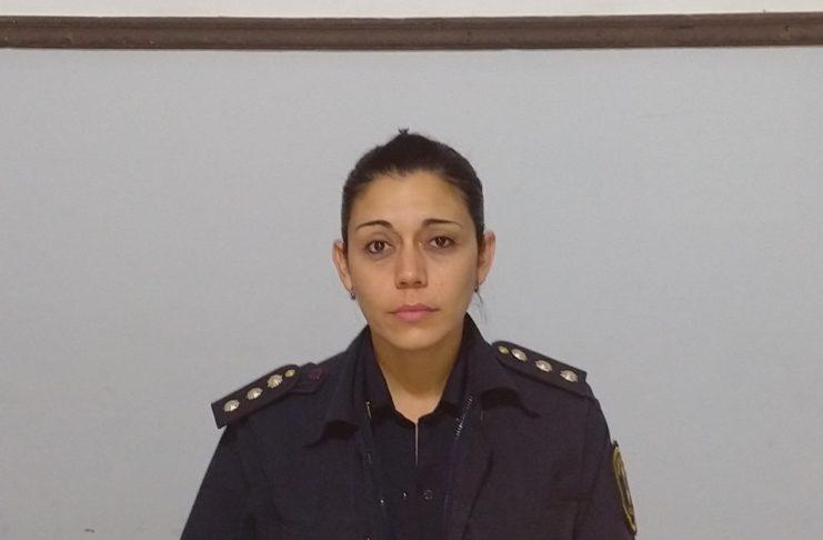 María Soledad Fusi, la mano derecha del comisario Andrés Galiano.