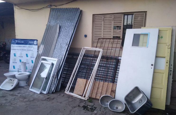 En un domicilio vecino se halló todo lo robado. Foto: La Opinión.