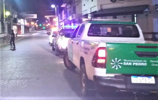 Inspección y Policía no reportaron infracciones al horario previsto.