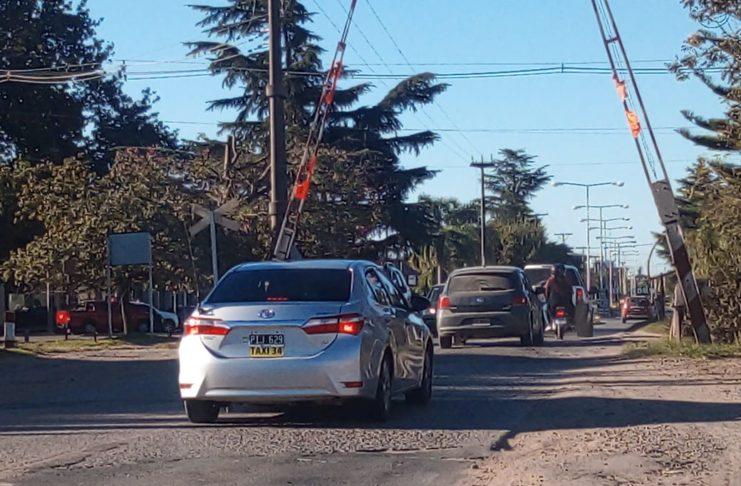 Si la viabilidad técnica se aprueba, el acceso principal por ruta 191 será con túnel bajo vía. Foto: Archivo La Opinión.