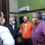 """Salazar se reunió con Roleri para """"instrumentar los controles""""."""