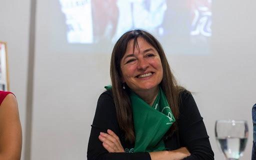 La ministra de las Mujeres bonaerense, Estela Díaz.