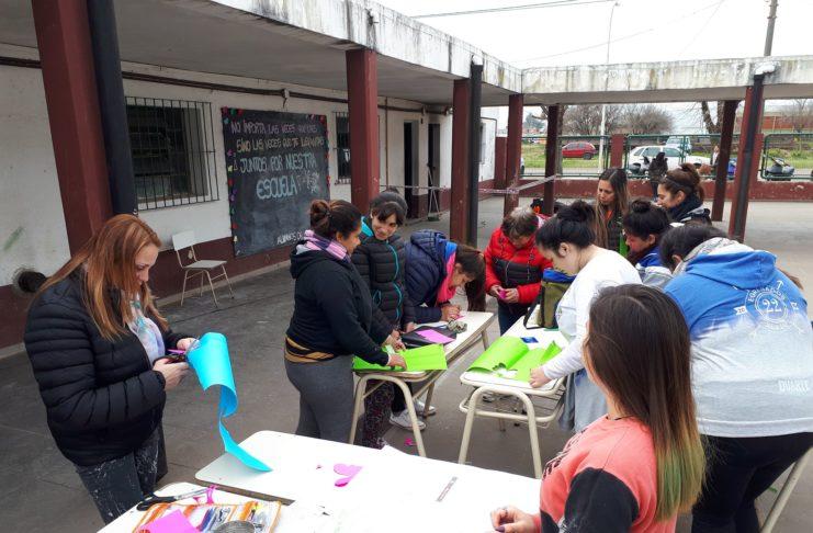 La comunidad educativa de la Secundaria 14 lamentó el acto vandálico.