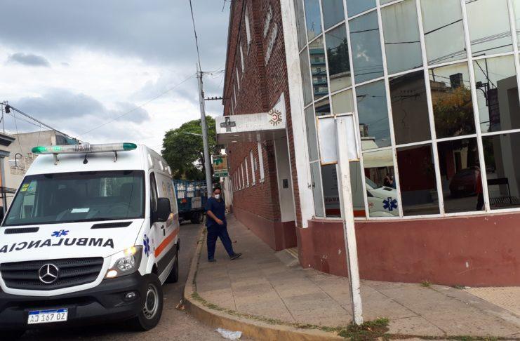 El paciente está internado en la clínica San Pedro.