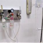 San Pedro está en situación de derivación de pacientes que necesiten respirador.