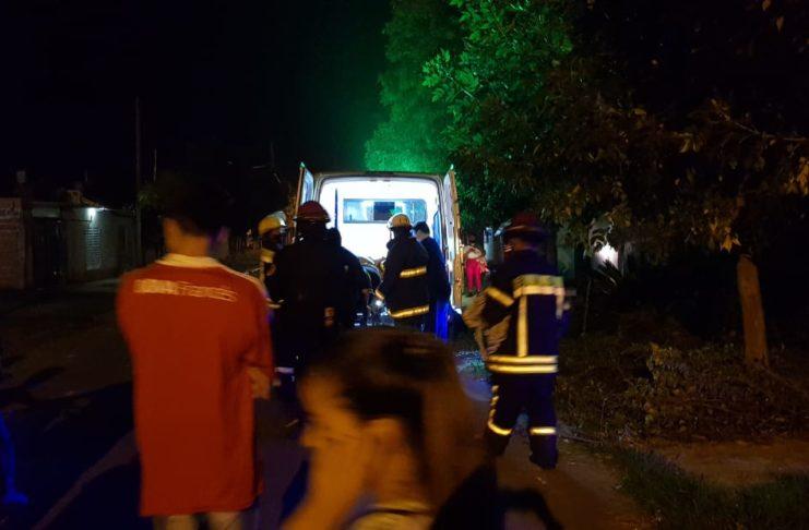 Tras el conflicto, el hombre fue trasladado al Hospital, donde lo operaron.