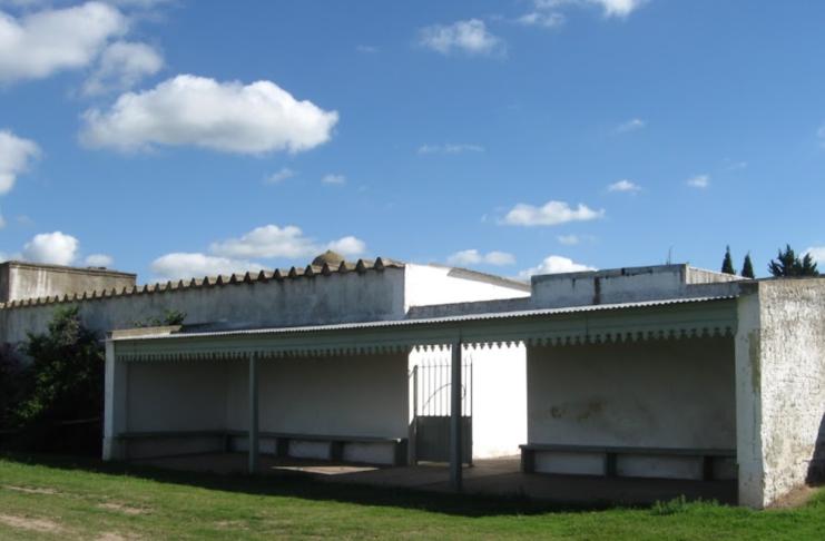 El cementerio de Santa Lucía.