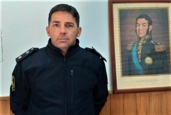 El oficial inspector Marcos Lezcano.