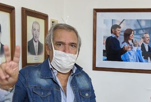 El intendente de Colón, Ricardo