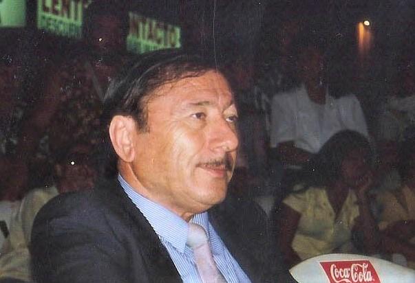 Roberto Fortunato en el archivo fotográfico de La Opinión que difunde Refundar San Pedro.