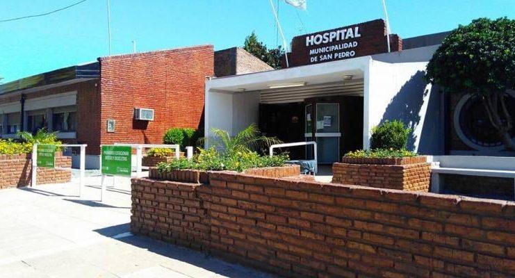 La paciente estaba internada en el Hospital local.