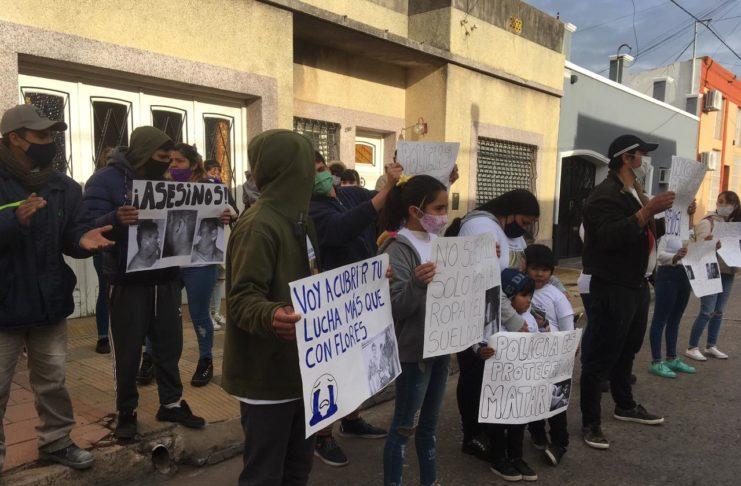 Familiares y amigos marcharon para pedir justicia por Germán Lopes García.
