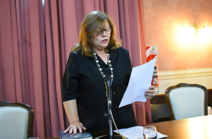 Patricia Rocca, el día que juró para su último mandato.