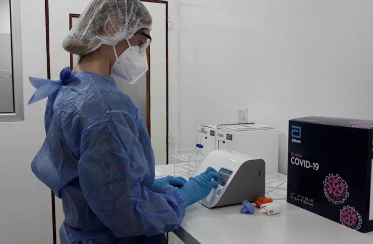 El Hospital privado SADIV ya tiene el aparato para las PCR.