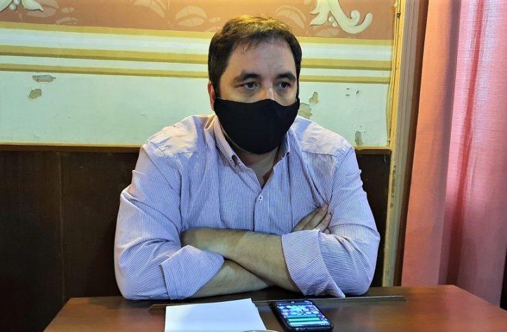 Martín Pando, concejal de la UCR en Juntos por el Cambio.