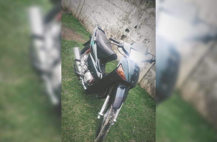 La Honda Wave robada en La Laguna al 2000.