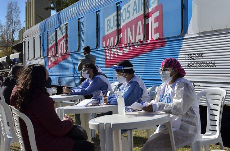 El Tren Sanitario de la provincia de Buenos Aires.