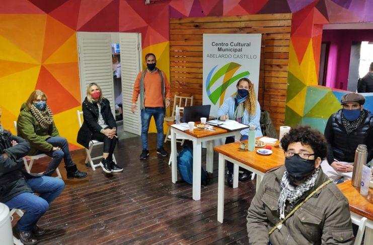 Cuñer se reunió con los empleados de Cultura para comenzar a trabajar a cargo del área.