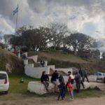 El paraje histórico tuvo buena afluencia de visitantes el fin de semana.