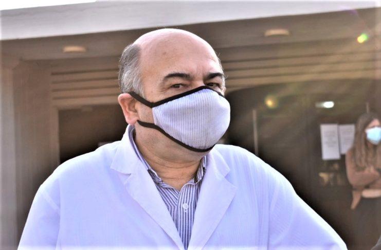 El director médico del Hospital, Javier Sualdea, analizó la situación en Radio Cuarentena.
