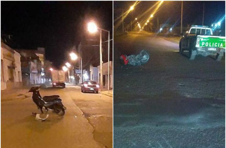 Ambos accidentes ocurrieron entre las 3.00 y las 3.30 de la madrugada.