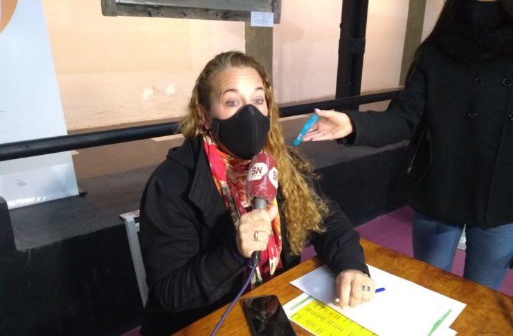 La secretaria de Turismo y Cultura, Marcela Cuñer.