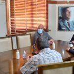El director de Defensa Civil bonaerense estuvo en San Pedro.