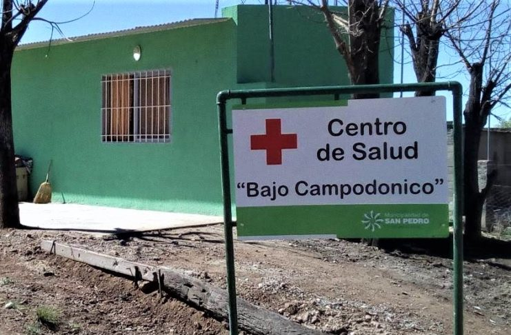 El Centro de Salud Bajo Campodónico.