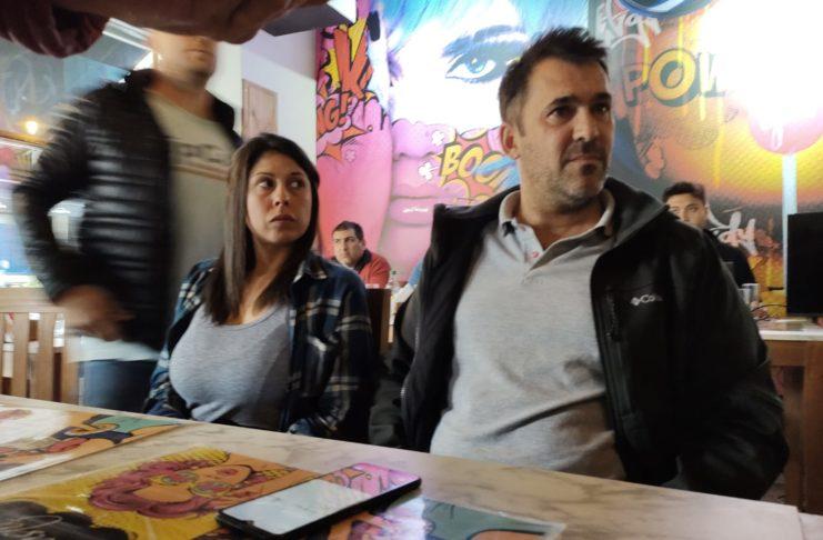 Martín Rivas, Daiana Franco y Marcos Rosenberg encabezaron la actividad.